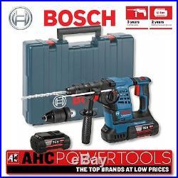 bosch gbh 36 vf li 36v cordless li ion sds plus rotary hammer drill 2 x 4ah batt. Black Bedroom Furniture Sets. Home Design Ideas