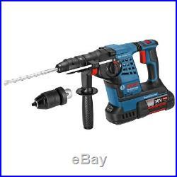 Bosch GBH 36 VF-LI 36V Plus Cordless li-ion SDS Plus Hammer Drill 2 x 4Ah Batt