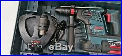 Bosch GBH 36 VF-LI PLUS 36v SDS Hammer Drill 1x 4.0ah