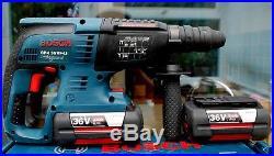 Bosch GBH 36 VF-LI Professional 36V SDS Plus Cordless Hammer Drill 2 x 4.0Ah