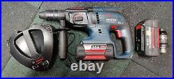 Bosch GBH 36 VF-LI sds rotary hammer drill with 4 ah 2.6Ah 36V batteries