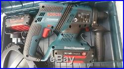 Bosch GBH 36 V EC Compact Brushless 36V SDS Plus Rotary Hammer Drill (2 x 2.0Ah)