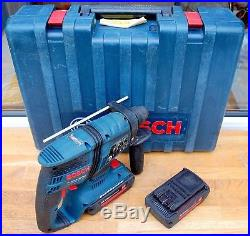 Bosch GBH 36 V-EC Compact Professional 36V Brushless Hammer Drill SDS+ 2Batt