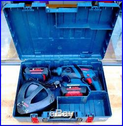 Bosch GBH 36 V-LI Cordless SDS+ Rotary Hammer Drill 2 x Li-ion Batteries
