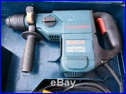 Bosch GBH 4 DFE Corded 110V SDS rotary hammer Drill, breaker, kango, chisel