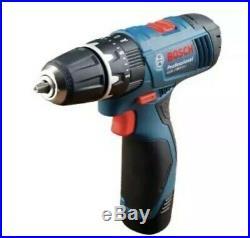 Bosch GSB120LI 12v Cordless Combi Drill 2 x 1.5ah Batteries Charger Case