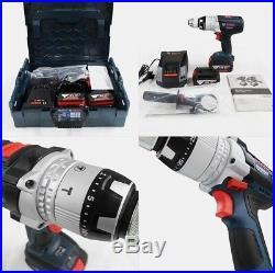 Bosch GSB18VE-2-LI Cordless 18V 5.0Ah Li-Ion Combi Drill Series / 220V Charger