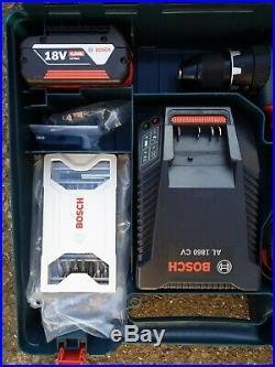 Bosch GSB 18V-28 Li Cordless combi hammer drill 18V, 4.0Ah batteries, Charger