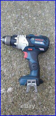 Bosch GSB 18V-85 C Li Cordless combi hammer drill driver, brushless, heavy duty