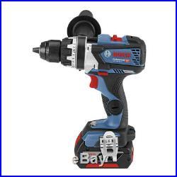 Bosch GSB 18V-85 C Pro. Hammer Drill Bluetooth LED 13mm 18V L-Boxx 2x6.0Ah FedEx