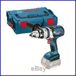 Bosch GSB 18 VE-2-LI Combi Drill, Body Only in L-BOXX 06019D9302