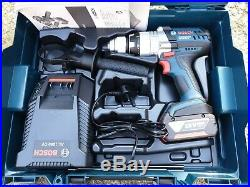 Bosch GSB 18 VE-2-Li Cordless combi hammer drill 18V, 5.0Ah battery, Charger