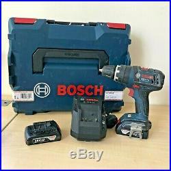 Bosch GSB 18 V-Li Cordless Combi Hammer Drill 2x 1.5Ah Battery Case
