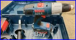 Bosch GSB 36V Li Cordless Combi Hammer Drill Kit, Batteries, Fast Charger