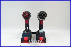 Bosch GXL18V-224B25 18V 2-Tool Combo Kit with Connected Freak