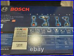 Bosch GXL18V-224B25 18V 2-Tool Combo With Connected Freak 1/4 & 1/2 Hammer Drill