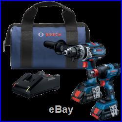 Bosch GXL18V-224B25 18V Cordless 2-Tool Combo Kit