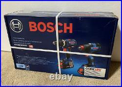 Bosch GXL18V-251B25 18V Brushless 2-Tool Combo Kit, Hammer Drill+Freak Impact