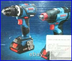 Bosch GXL18V-251B25 18V Hammer Drill & Impact 2-Tool Combo Kit WithBatt & Charger