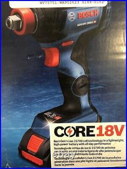 Bosch GXL18V-251B25 18 Volt Hammer Drill & Impact Driver Kit Brushless -NEW