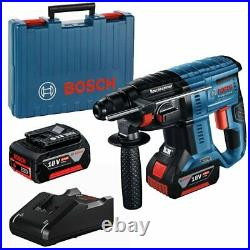 Bosch Gbh18v-21 Professional Brushless Cordless Rotary Hammer With Sds Plus Kit