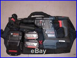 Bosch Gbh18v-26f 18v Brushless Sds+ Hammer Drill With 2 X 5.0ah Batteries
