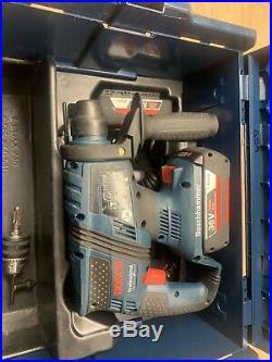 Bosch Gbh 36V Ec Sds Hammer Drill Brushless 2X 2Ah Bat Stack Box T59