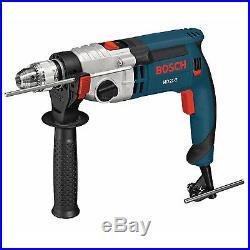 Bosch HD21-2 120-Volt 1/2-Inch 9.2 Amp 2-Speed Corded Hammer Drill Kit