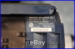Bosch HDH181X 18-Volt 1/2 4.0Ah Brute Tough Hammer Drill Driver Set
