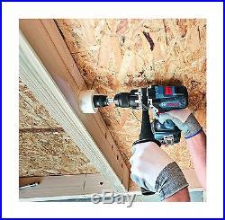 Bosch HDH183-01 18V EC Brushless 1/2 Hammer Drill/Driver Blue New