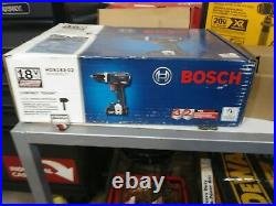 Bosch HDS183-02Compact Tough 18V 1/2 in. Hammer Drill/Driver Kit. Brand New