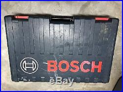 Bosch Hammer Drill 11264EVS Boschhammer With Case and 10 Bits and Chisels