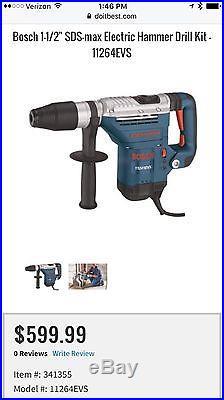 Bosch Hammer Drill 1-5/8 in chuck