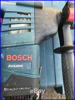 Bosch Hammer drill RH328VC with 9 bits