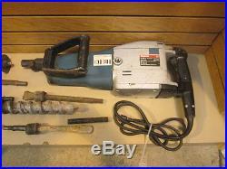Bosch Heavy Duty Demolition Rotary Hammer Drill 11209 2 w Bits & Hard Case