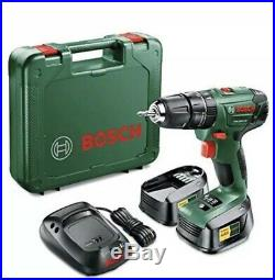 Bosch PSB 1800 LI-2 Cordless Lithium-Ion Hammer Drill Driver 2 x 18 V Batteries