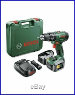 Bosch PSB 18 Li-2 Cordless Hammer Drill (2 Battery Packs)
