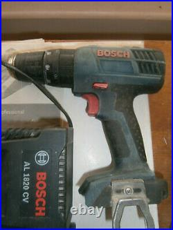 Bosch Professional GBH 18 V-LI & GSB 18 2-LI Cordless Rotary Hammer Drill Set