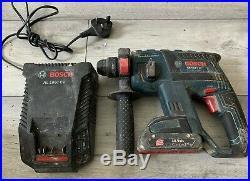 Bosch Professional GBH 18 V-LI SDS Cordless Rotary Hammer Drill Set UNTESTED