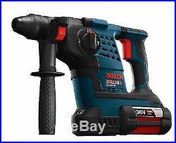 Bosch RH328VC-36K 36V Li-Ion Bulldog 1-1/8in SDS-plus Cordless Rotary Hammer Kit