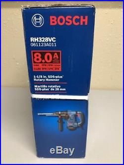 Bosch RH328VC 8 Amp 1-1/8 SDS Plus Rotary Hammer Drill With Case (NEW)