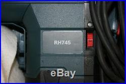 Bosch RH745 1-3/4 Keyless SDS-Max Rotary Hammer Drill