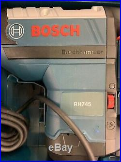 Bosch RH745 1-3/4 SDS-Max Rotary Hammer Drill, Open Box
