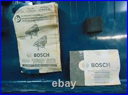 Bosch Rotary Hammer Demolition Drill 11264 Evs With Case & Bits