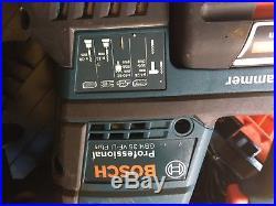 Bosch SDS Hammer Drill GBH36VF-LI Plus 2 x 4amp batteries 36volt great cobdition