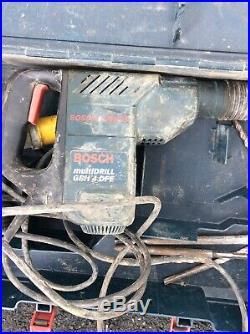Bosch SDS MultiDrill GBH 4 DFE 110v (Drill, Hammer Drill & Breaker)