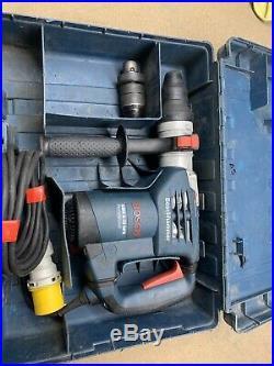 Bosch Sds GBH 4-32 DFR 110v Drill, Hammer Drill Kango Breaker Chisel Action T5