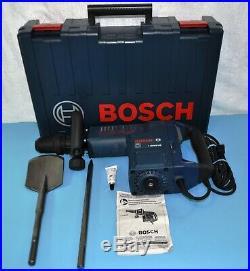 Bosch Tools 11316EVS 14 Amp SDS-Max Demolition Hammer Drill + New Spade & Point