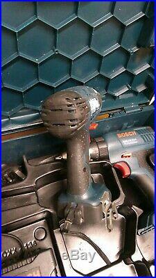 Bosch Tools Gsb18-2-li Combi Hammer Drill Driver & Gdr18v-li Impact Driver