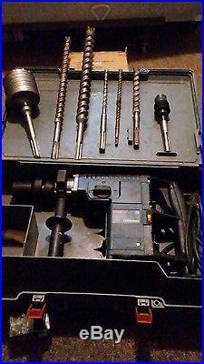 Bosch hammer 11231EVS SDS-max Rotary Demolition Hammer Drill Tool with bits